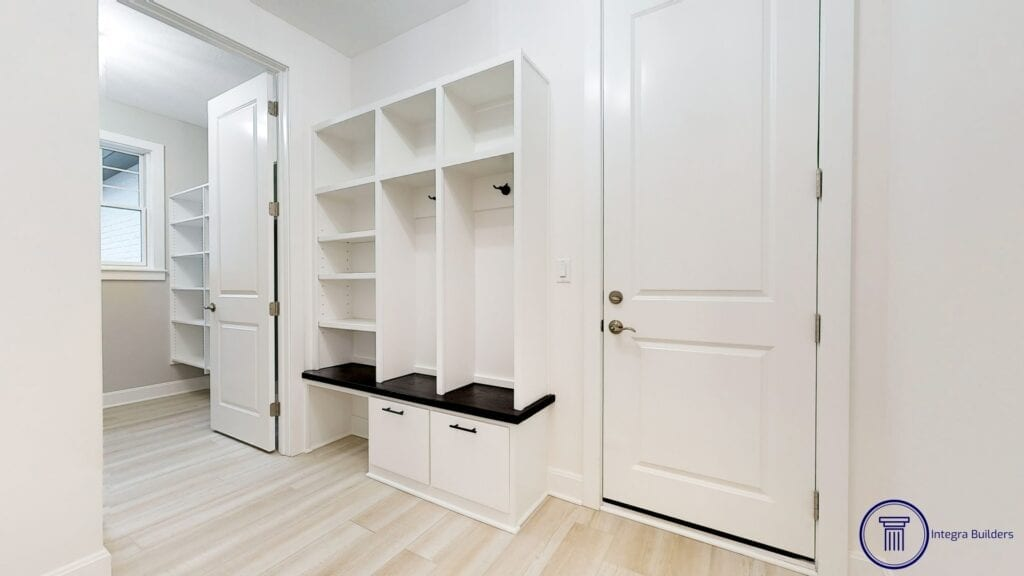 Carmel mudroom