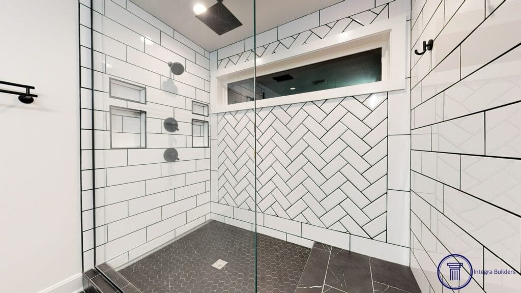 Carmel master shower