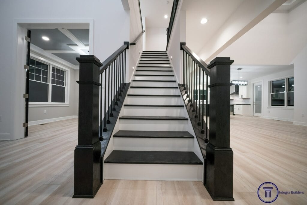 Carmel custom stairs