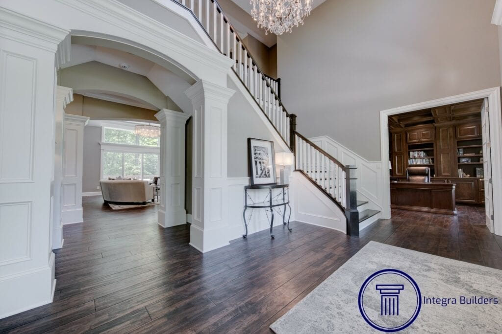 Zionsville entry foyer
