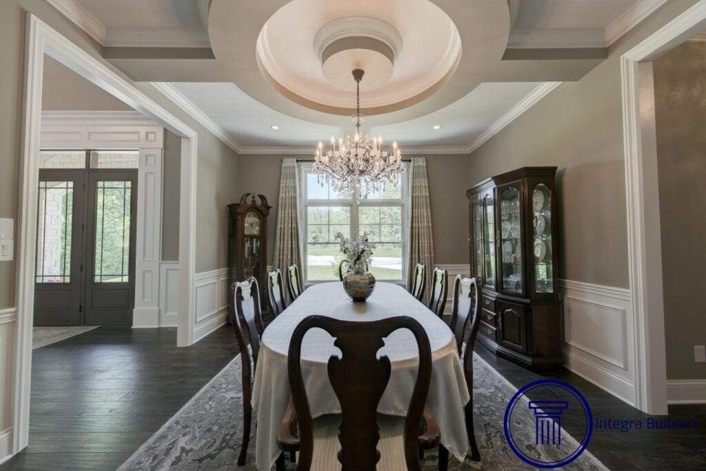 Zionsville dining room