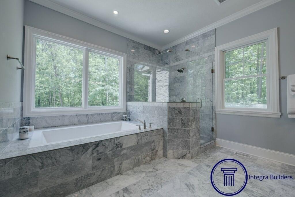 Zionsville master bath