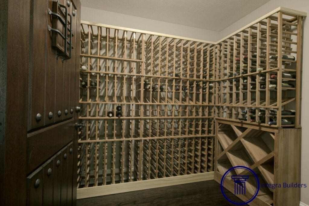 Zionsville wine room